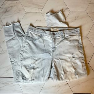 PacSun Distressed Ankle Jegging, size 29